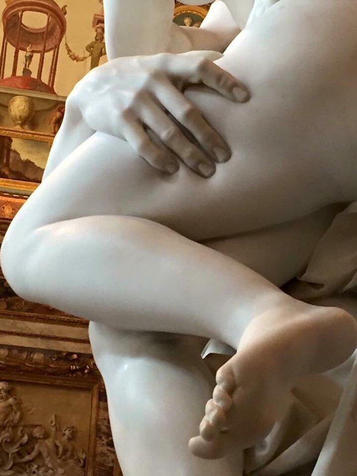 """Джованни Лоренцо Бернини """"Похищение Прозерпины"""", мрамор, середина XVII века."""