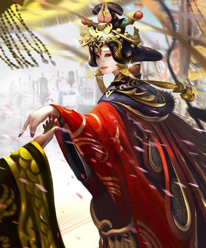 Китайская принцесса на церемонии