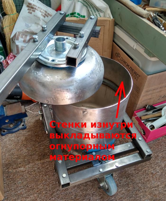 Литьё цветных металлов своими руками. #1 Печь Рукоделие без процесса, Печь, Плавильня, Длиннопост