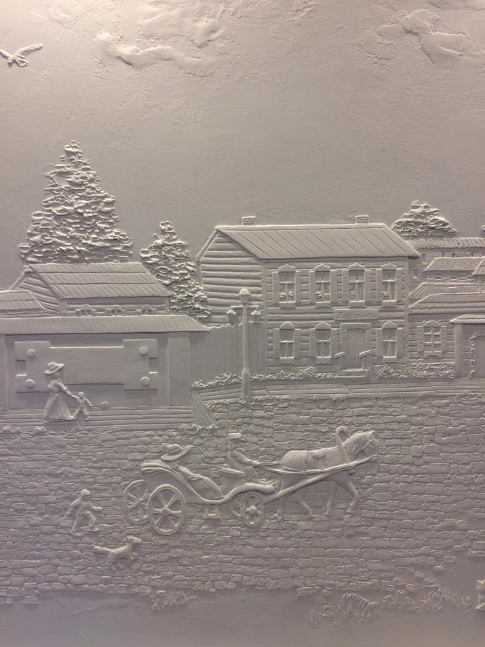 Барельеф своими руками. Старый город, Иркутск, Лепнина, Барельеф, Дизайн, Декорации, Ремонт, Длиннопост