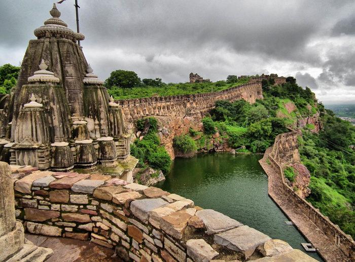 Форт Читторгарх (Индия) Индия, Туризм, Форт, Заброшенное, Длиннопост