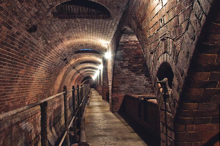 Удивительный музей в старой канализации Канализация, Музей, Прага, Чехия, Длиннопост