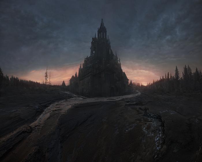 Некрополис где-то на просторах Среднерусской возвышенности