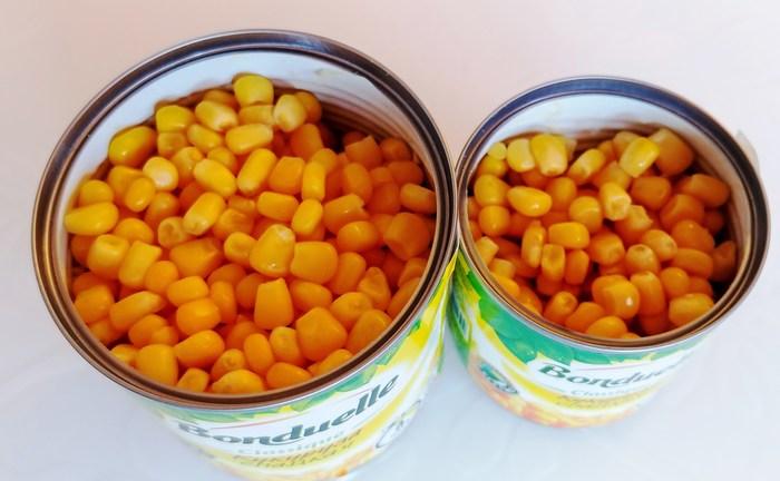 Иду в «Магнит» за консервированной кукурузой. Bonduelle большая и маленькая. Весы показали недовложение основного продукта. Тестирование продуктов питания, Кукуруза, Магнит, FoodInspector, Экспертное мнение, Длиннопост