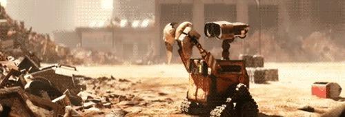 Wall-e vs Bal-e Бал, Валл-и, Форум, Армия, Гифка