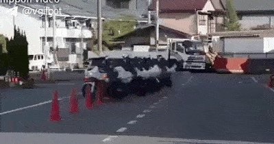 Японская мото полиция