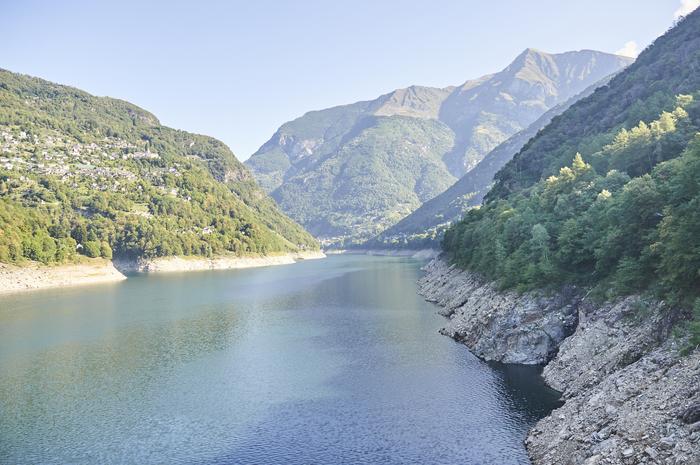 Плотина Локарно, Швейцария Плотина, Швейцария, Локарно, Сооружения, Водохранилище, Длиннопост