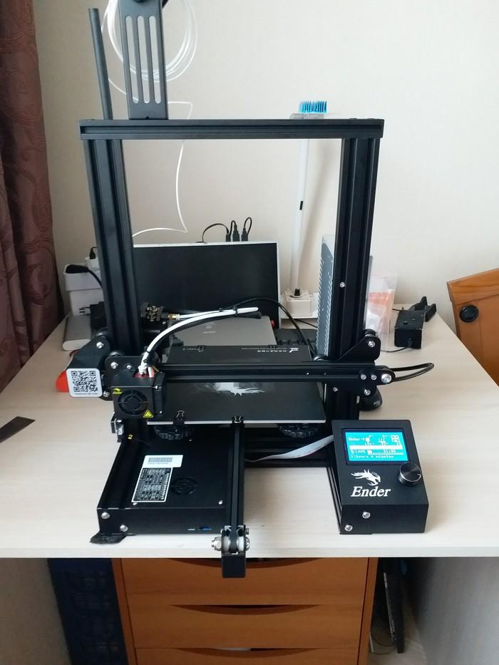3D принтер для чайника 3D принтер, Своими руками, 3d печать, Длиннопост