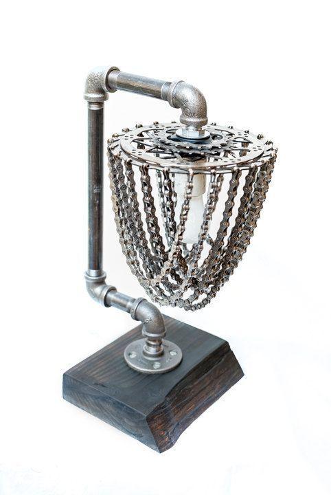 Brutal Декор, Металл, Цепь, Светильник, Настоящего мужика агррр, Фотография, Длиннопост