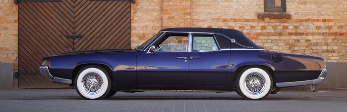 Реставрация автомобиля Ford Thunderbird 67