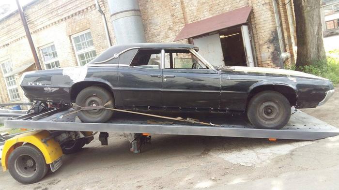 Реставрация автомобиля Ford Thunderbird 67 картинки