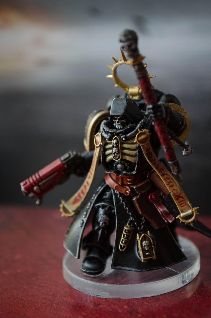 Покрас примарис капеллана Warhammer 40k, Wh miniatures, Primaris Space Marines, Длиннопост, Покраска миниатюр