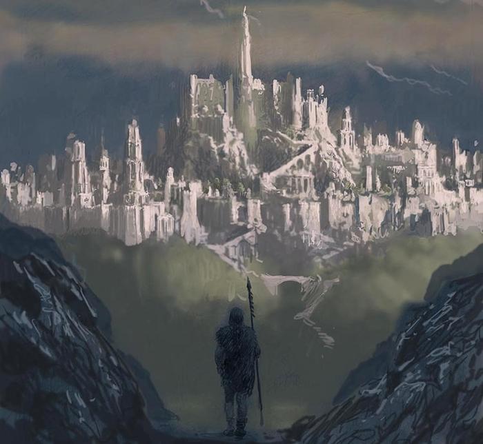 Издано последнее произведение Толкина — «Падение Гондолина» Толкин, Властелин колец, Хоббит, Длиннопост, Книжная лига