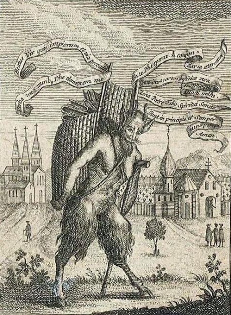 Титивиллус – демон покровитель писцов и печатников Демоны среди нас, Религия, Интересное, Демонология, Средневековье, История, Длиннопост