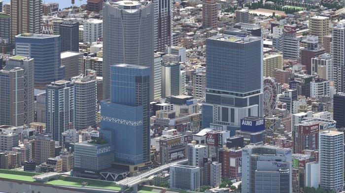 Город в Майнкрафте