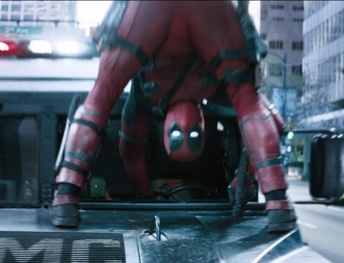 Deadpool с бульвара Капуцинов Deadpool, Человек с бульвара Капуцинов, Отсылка, Качество скриншотов - кака, Шутю