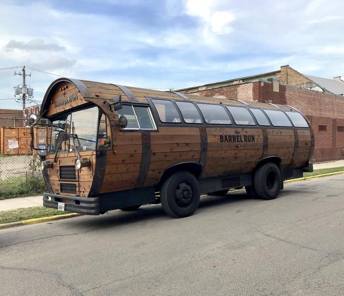 Автобус-бочка