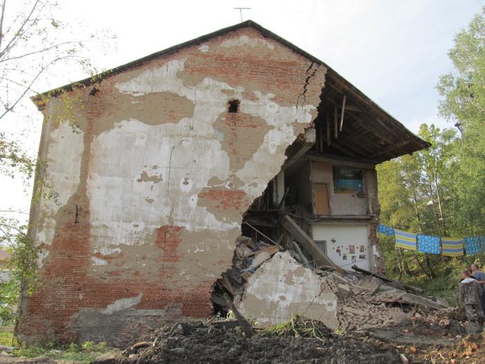 Цемент сказал: меня там не было. Обрушение дома, Длиннопост, Авария, Аварийный дом, Происшествие