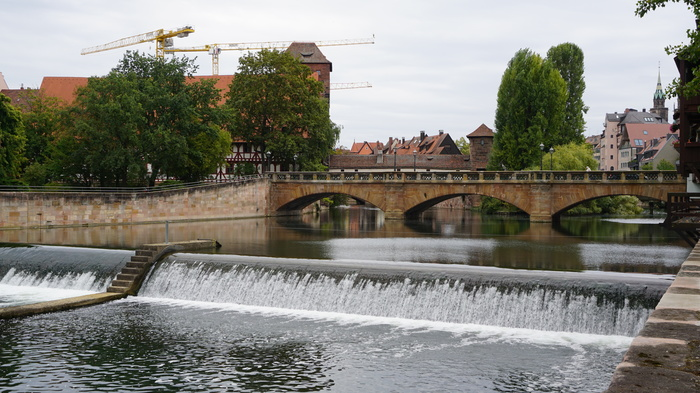 Первый день осени Фотография, Осень, Река, Нюрнберг, Длиннопост