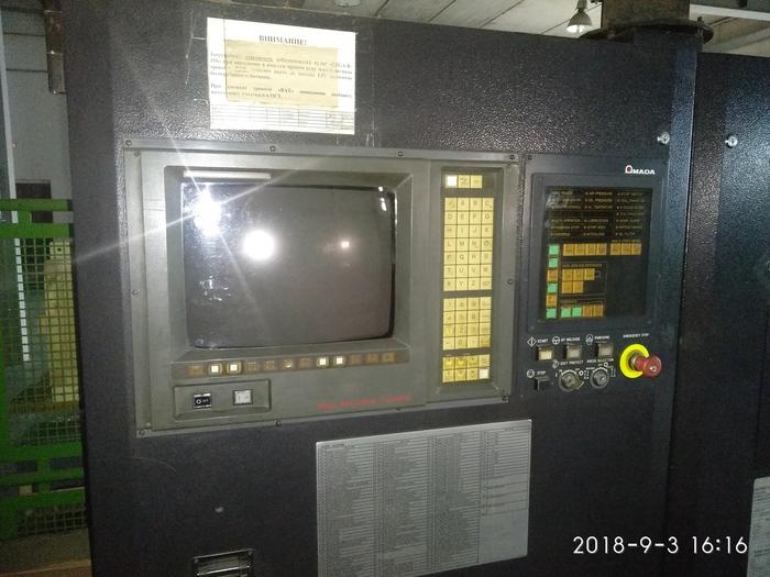 Проблема со станком AMADA PEGA 358 Станок с чпу, ЧПУ, Amada, CNC