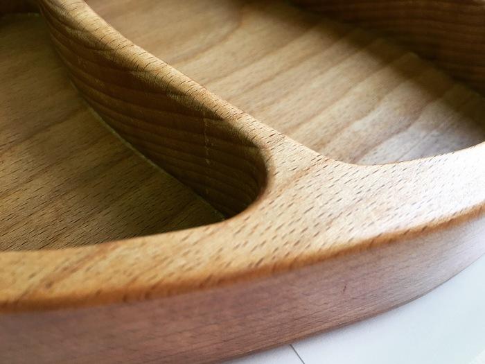 Менажница из дерева. Дерево, Кухня, Ручная работа, Деревообработка, Тарелка, Длиннопост