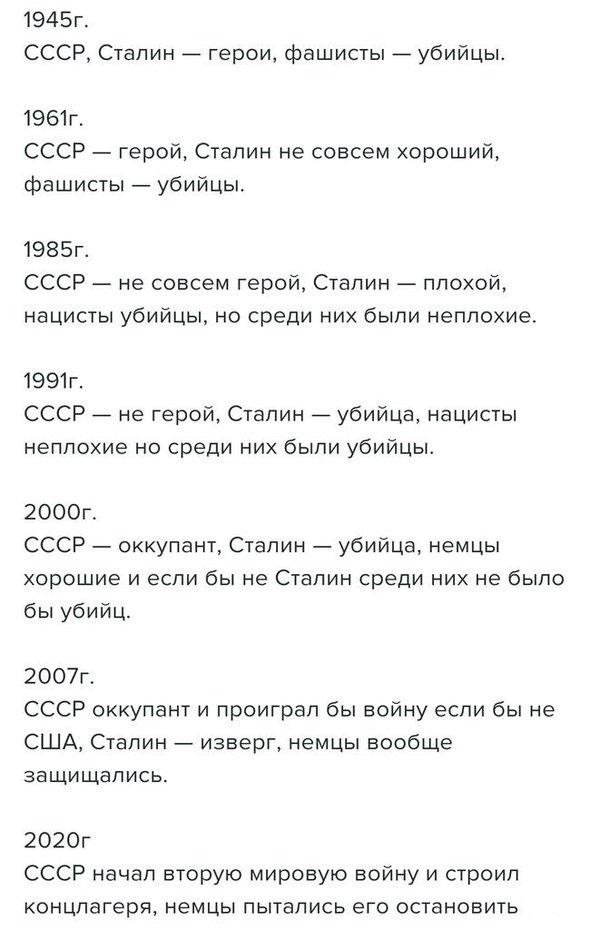 Переписывание истории Политика, История, Переписывание истории, СССР
