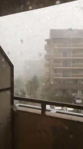 В Японии сегодня ветрено
