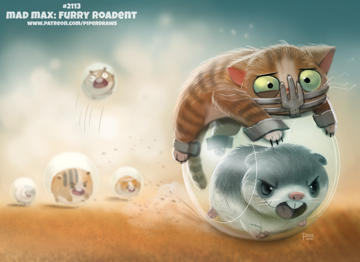 Mad Max: Furry Roadent