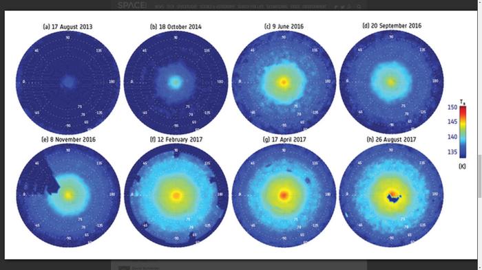 Загадочный шестиугольник Сатурна оказался больше и страннее... Космос, Сатурн, Шестиугольник, Телескоп Хаббл, Новости, Кассини, Гифка, Длиннопост