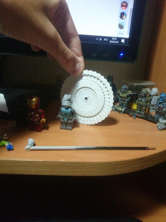 """Лего-диорама """"Вход в убежище"""" по вселенной Fallout. Часть первая. LEGO, Custom, Fallout, Кастомизация, Самоделки, Длиннопост"""