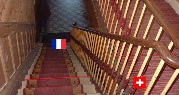 Отель Arbrez Отель, Вторая мировая война, Французы, Факты, Швейцария