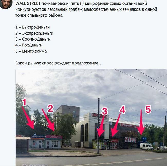 Макрожульё Иваново, МФО, Жулики
