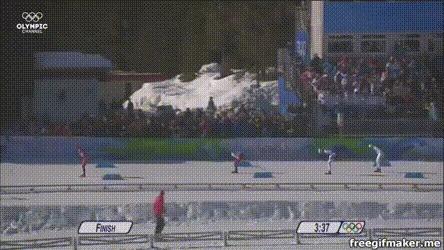 Четыре сломанных ребра за олимпийскую бронзу Спорт, Лыжные гонки, Герои спорта, Длиннопост, Gif анимация, Гифка