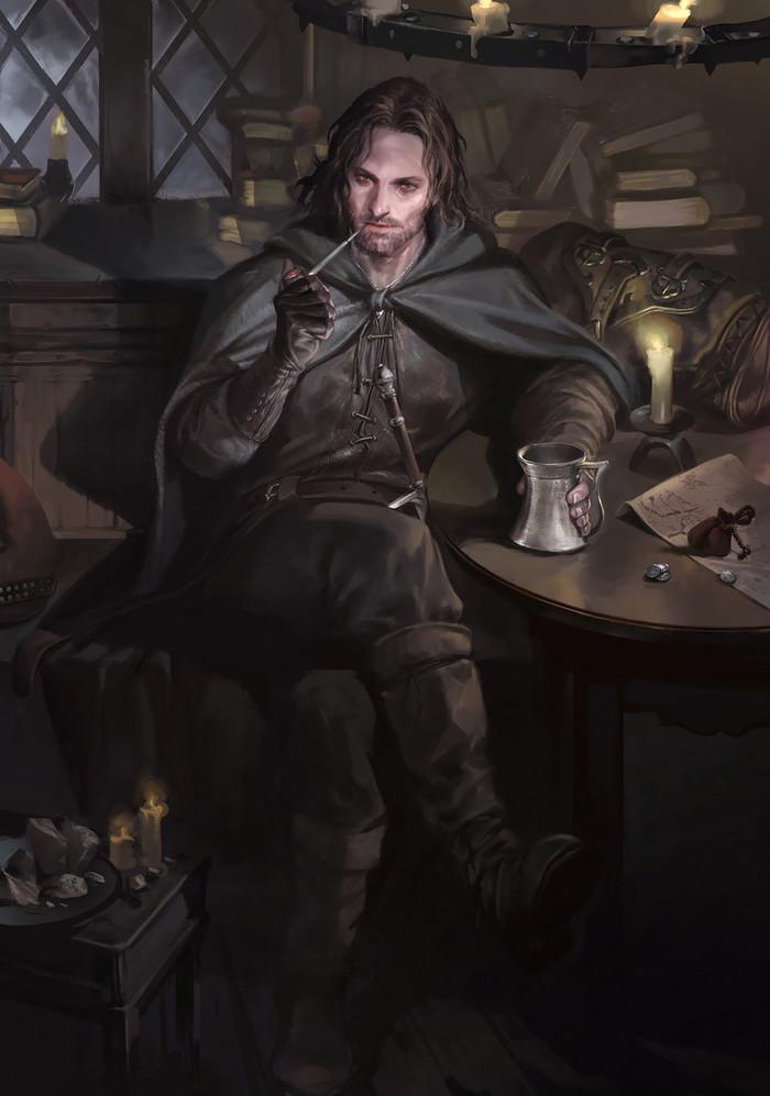 Aragorn Арт, Властелин колец, Арагорн