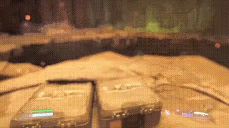 Как выглядит Doom от третьего лица.