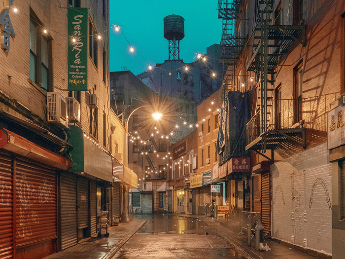 Атмосферный Чайна-таун США, Чайнатаун, Нью-Йорк, Манхэттен, Фотография, Длиннопост
