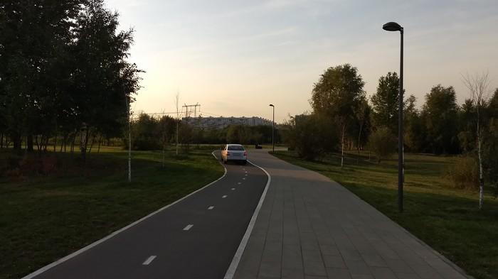 Велодорожки, новый уровень беспредела Велодорожка, Водитель, Еду как хочу, Нарушение ПДД, Негатив