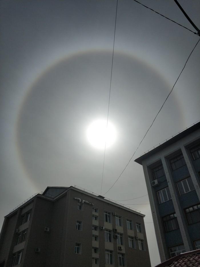 Гало Солнце, Фотография