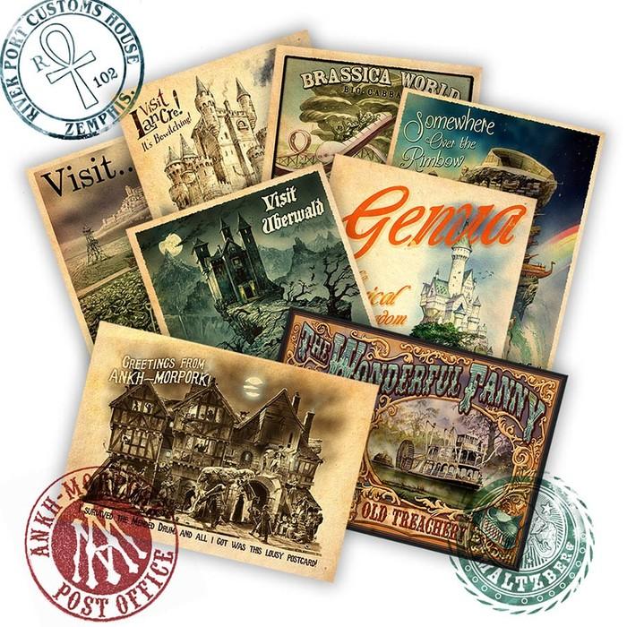 Плоский мир Пратчетта: путеводитель для туриста. Часть 1. Книги, Терри Пратчетт, Интересное, Плоский мир, Фантастика, Длиннопост