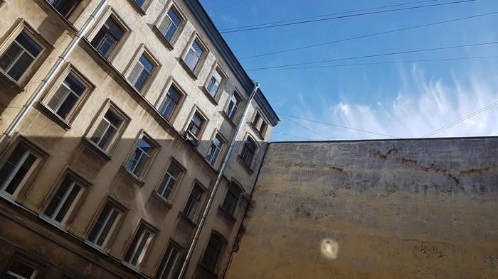Горизонт не завален Фотография, Санкт-Петербург, Двор, Здание