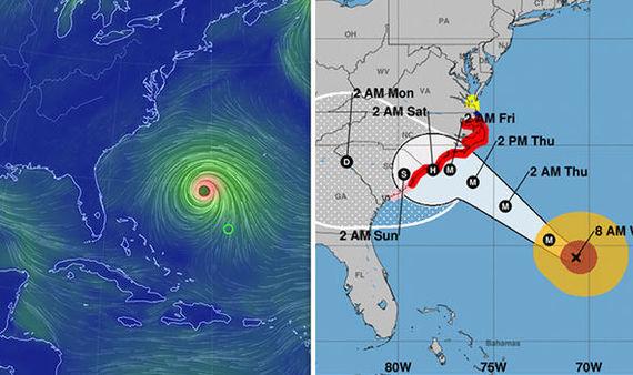 Подготовка к урагану Флоренс Ураган, США, Жизнь в США, Дефицит, Длиннопост, Ураган Флоренс