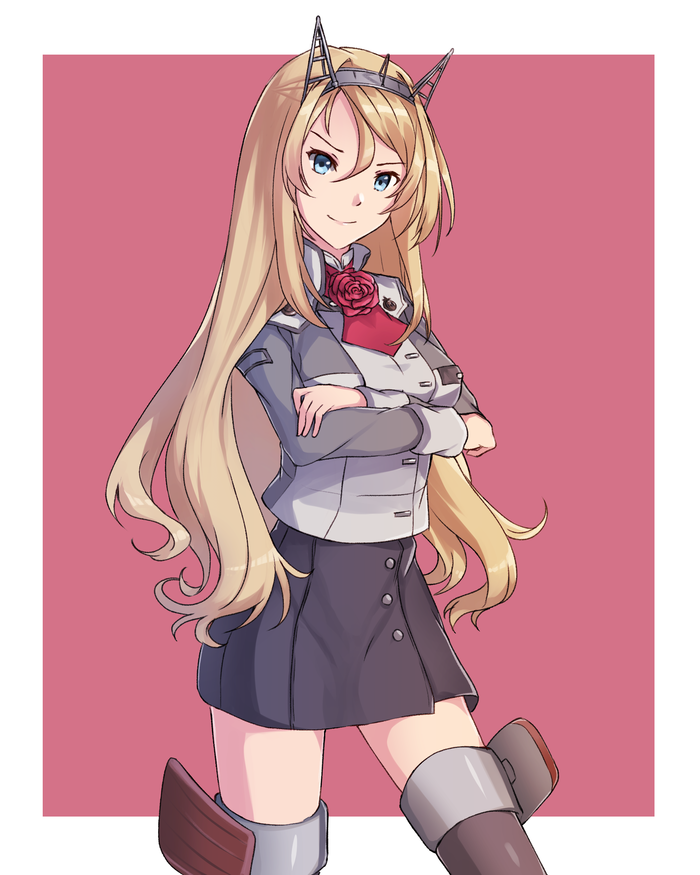 Nelson and Maestrale Kantai collection, Nelson, Maestrale, Аниме, Anime Art, Длиннопост