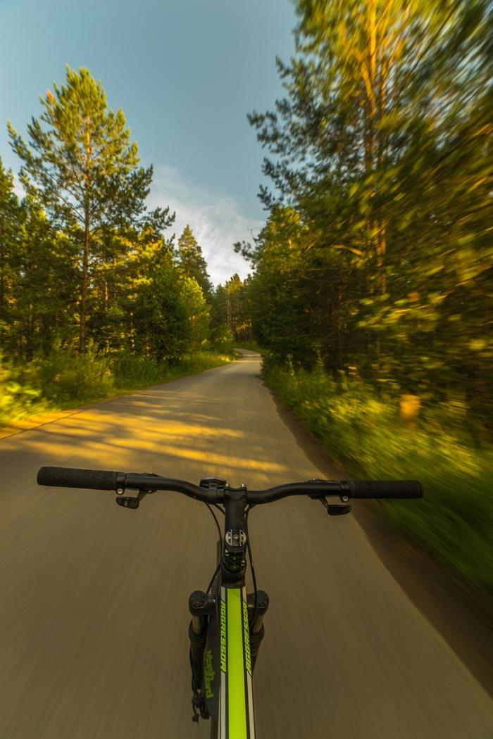 Как не стоит делать Велосипед, Фотография, Дорога, Движение