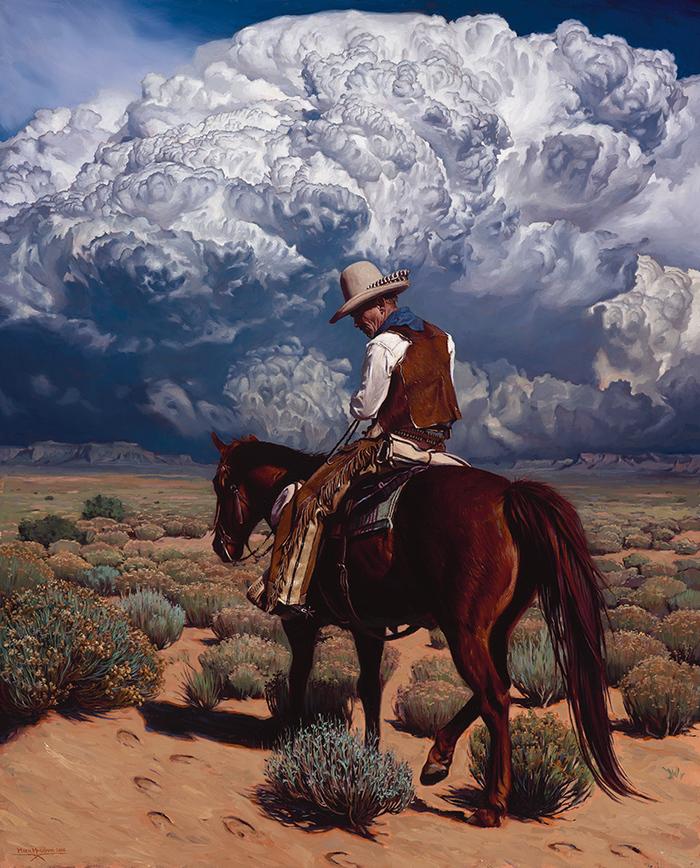 """Пропавшая Лошадь."", Mark Maggiori. 61х76 сантиметров. Холст, масло."
