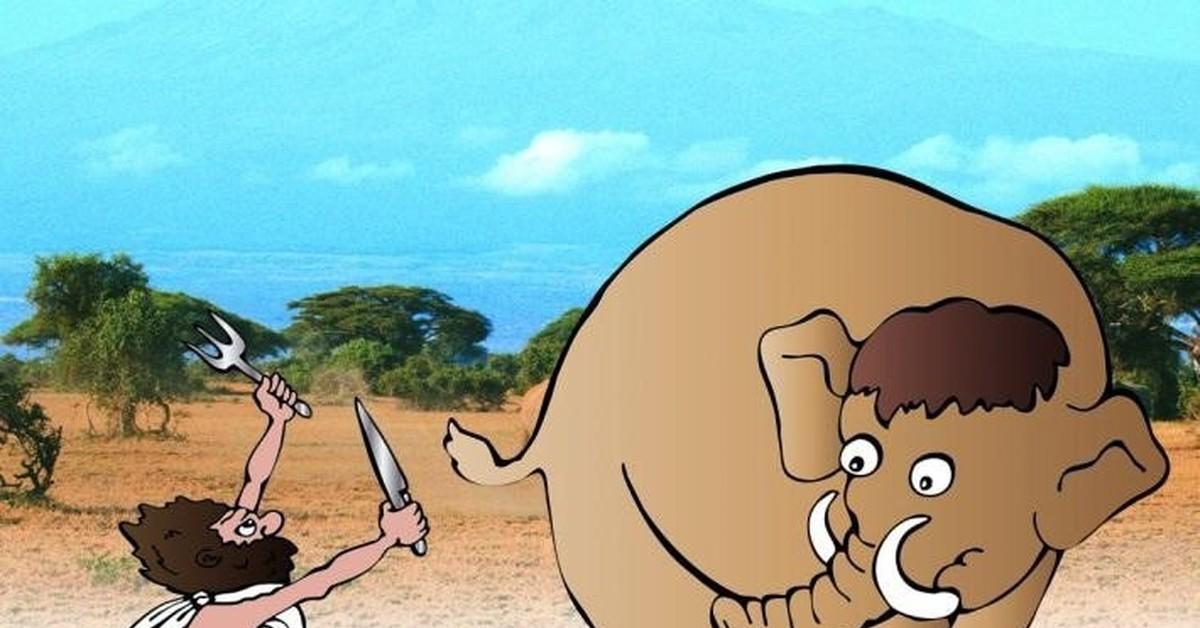 Прикольные картинки с мамонтами, вам рады картинка