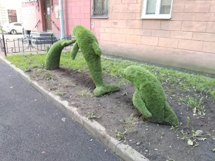 Дельфинчики Санкт-Петербург, Ландшафтный дизайн