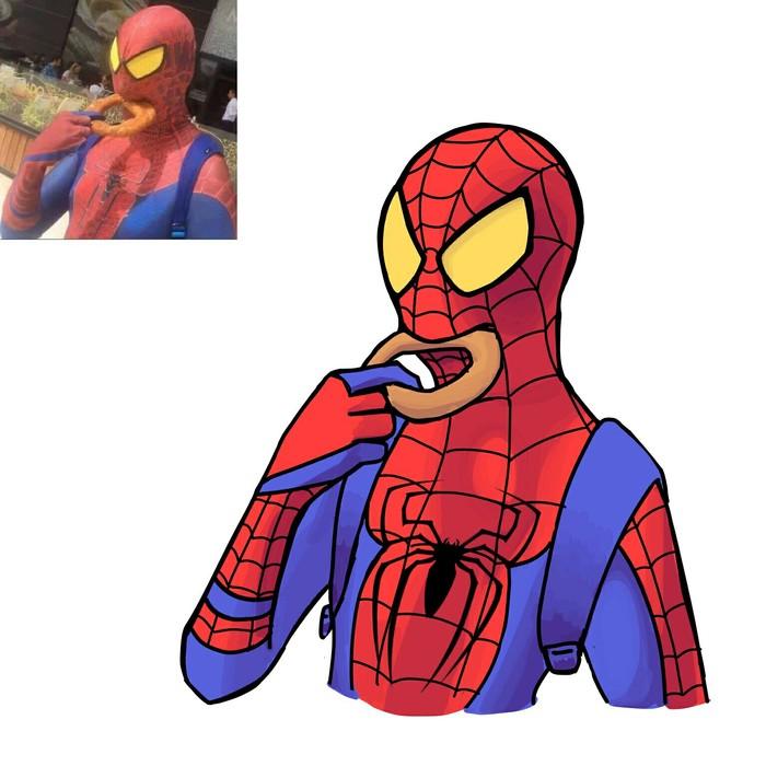 Чилавек-павук Мемы, Упоротость