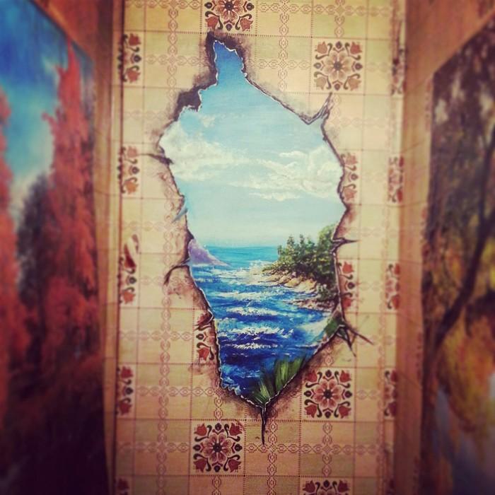 Когда сильно хочется на море Рисунок, Творчество, Море, Моё