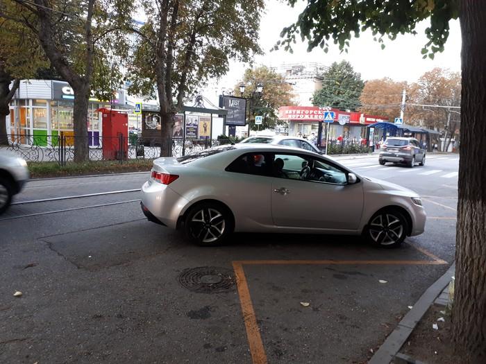 Жёлтый зигзаг - это же для парковки ёлочкой! Парковка, Дорожная разметка, Нарушение ПДД, Пофигизм, Логика