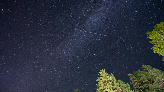 Звездная ночь на Ладоге Карелия, Звёзды, Млечный путь, Северное сияние, Путешествия, Ладога, Длиннопост